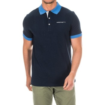 textil Hombre Polos manga corta Hackett Polo  Golf Azul