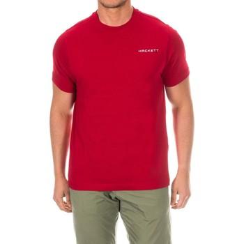 textil Hombre Camisetas manga corta Hackett Camiseta  Golf Rojo