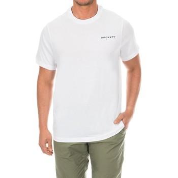 textil Hombre Camisetas manga corta Hackett Camiseta  Golf Blanco