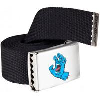 Accesorios textil Hombre Cinturones Santa Cruz Screaming mini hand belt Negro