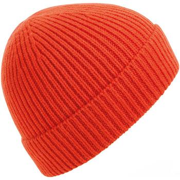 Accesorios textil Gorro Beechfield BC380 Rojo Fuego