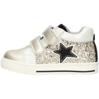 Zapatos Niña Zapatillas bajas Balocchi 606224 Platino