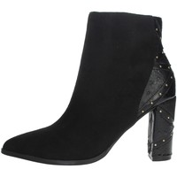 Zapatos Mujer Botines Menbur 21956 Negro