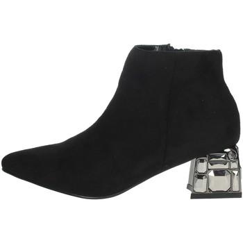 Zapatos Mujer Botines Menbur 22098 Negro