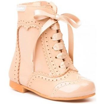 Zapatos Niña Botines Cbp - Conbuenpie Botas Pascualas de piel by CBP Marron
