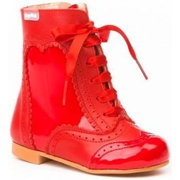 Zapatos Niña Botines Cbp - Conbuenpie Botas Pascualas de piel by CBP Rouge