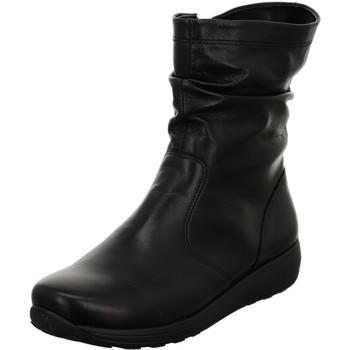 Zapatos Mujer Botines Ara Merano St Hs Black