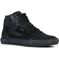 Zapatos Hombre Zapatillas altas Geox U Kaven Negro Black