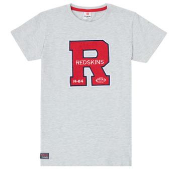textil Niño Camisetas manga corta Redskins TSMC180161-BLENDED-GREY Gris