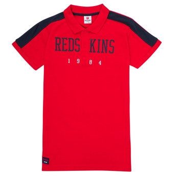 textil Niño Polos manga corta Redskins PO180117-RED Rojo