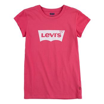 textil Niña Camisetas manga corta Levi's BATWING TEE SS Rosa