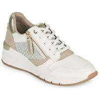 Zapatos Mujer Zapatillas bajas Tamaris REA Blanco / Oro