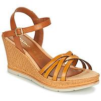 Zapatos Mujer Sandalias Tamaris SLOB Coñac / Azafrán