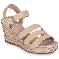 Zapatos Mujer Sandalias Geox D SOLEIL C Beige