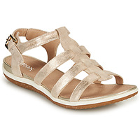 Zapatos Mujer Sandalias Geox D SANDAL VEGA A Oro