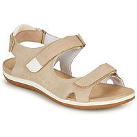 Zapatos Mujer Sandalias Geox D SANDAL VEGA A Beige