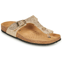 Zapatos Mujer Chanclas Geox D BRIONIA B Oro