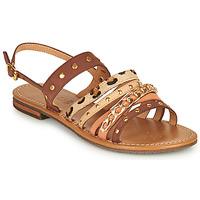 Zapatos Mujer Sandalias Geox D SOZY S I Marrón / Beige