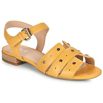 Zapatos Mujer Sandalias Geox D WISTREY SANDALO C Amarillo