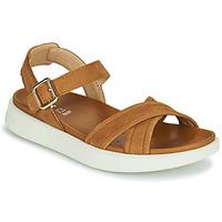 Zapatos Mujer Sandalias Geox D XAND 2S B Cognac