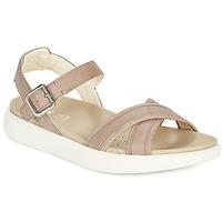 Zapatos Mujer Sandalias Geox D XAND 2S B Beige