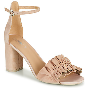 Zapatos Mujer Sandalias Geox D ERAKLIA HIGH E Beige