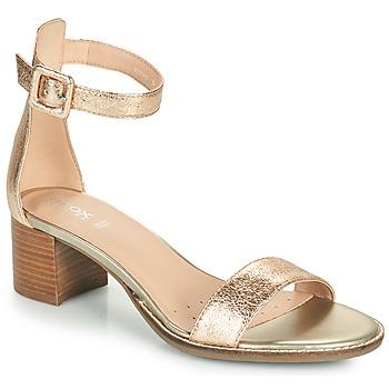 Zapatos Mujer Sandalias Geox D SOZY MID E Oro