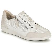 Zapatos Mujer Zapatillas bajas Geox D MYRIA A Blanco