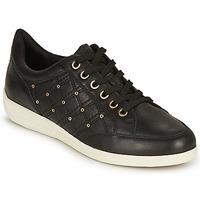 Zapatos Mujer Zapatillas bajas Geox D MYRIA H Negro