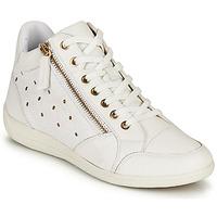 Zapatos Mujer Zapatillas altas Geox D MYRIA G Blanco