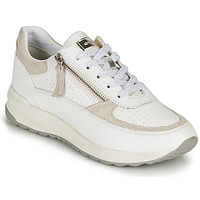 Zapatos Mujer Zapatillas bajas Geox D AIRELL A Blanco / Beige