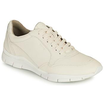 Zapatos Mujer Zapatillas bajas Geox D SUKIE A Blanco