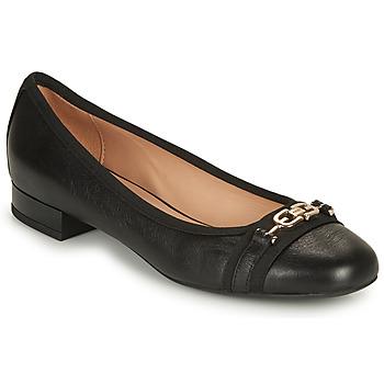 Zapatos Mujer Bailarinas-manoletinas Geox D WISTREY D Negro