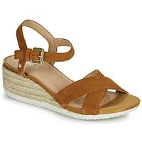 Zapatos Mujer Sandalias Geox D ISCHIA CORDA C Camel