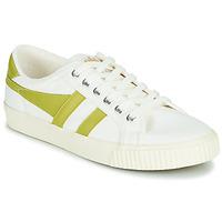 Zapatos Mujer Zapatillas bajas Gola TENNIS MARK COX Blanco / Amarillo
