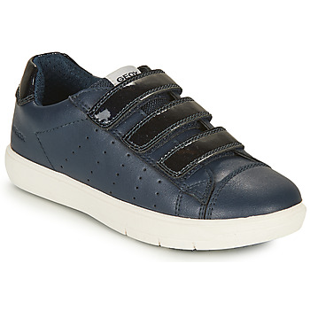 Zapatos Niña Zapatillas bajas Geox J SILENEX GIRL B Marino