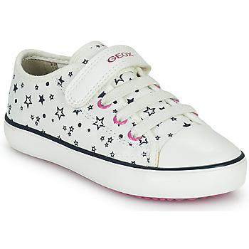 Zapatos Niña Zapatillas bajas Geox GISLI GIRL Blanco
