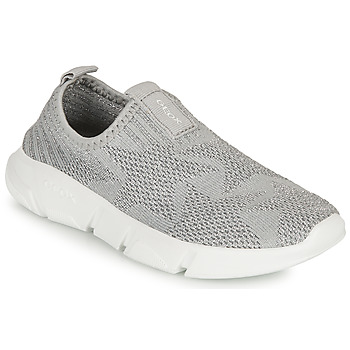 Zapatos Niña Slip on Geox ARIL GIRL Gris