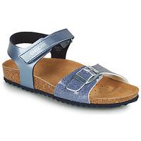 Zapatos Niña Sandalias Geox ADRIEL GIRL Azul