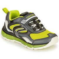 Zapatos Niño Zapatillas bajas Geox ANDROID BOY Gris / Lima