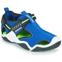 Zapatos Niño Sandalias de deporte Geox JR WADER Azul / Verde