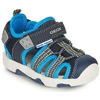 Zapatos Niño Sandalias de deporte Geox B SANDAL MULTY BOY B Azul