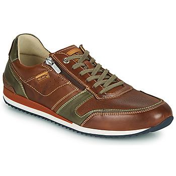 Zapatos Hombre Zapatillas bajas Pikolinos LIVERPOOL M2A Marrón
