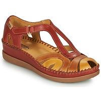 Zapatos Mujer Sandalias Pikolinos CADAQUES W8K Rojo / Beige