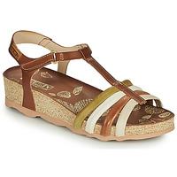 Zapatos Mujer Sandalias Pikolinos MAHON W9E Marrón / Blanco