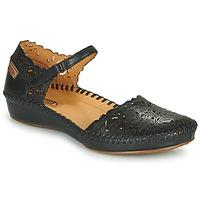 Zapatos Mujer Bailarinas-manoletinas Pikolinos P. VALLARTA 655 Negro