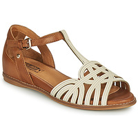 Zapatos Mujer Sandalias Pikolinos TALAVERA W3D Blanco / Marrón