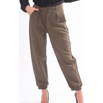 textil Mujer Pantalones chinos Fracomina F320WP7001W05201 Incoloro