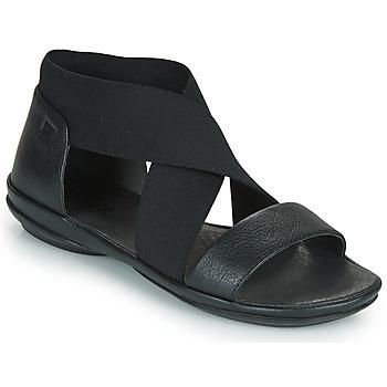 Zapatos Mujer Sandalias Camper RIGHT NINA Negro