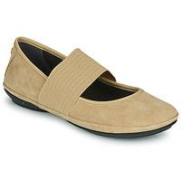 Zapatos Mujer Bailarinas-manoletinas Camper RIGHT NINA Beige